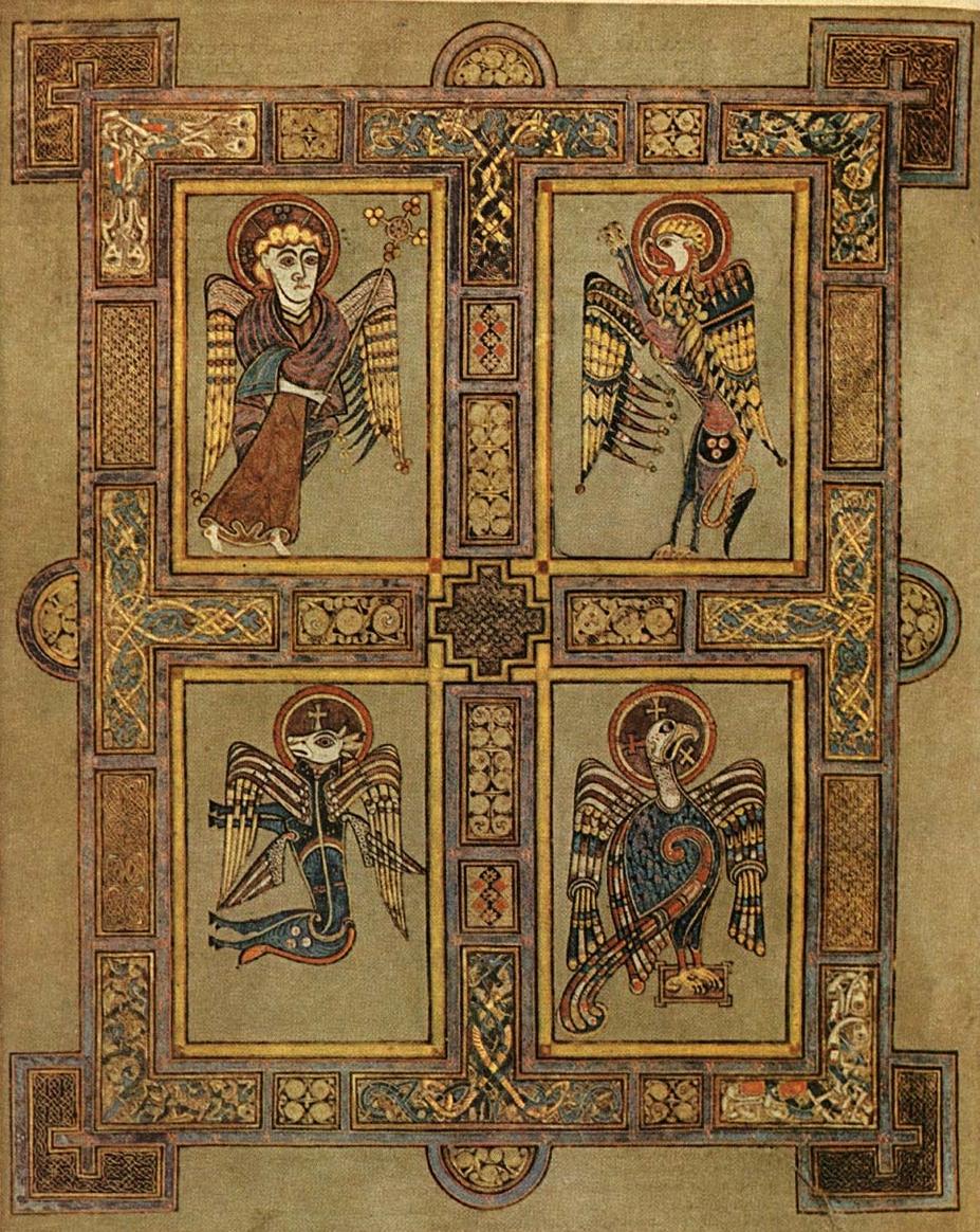 The Depiction Of The Four Gospels In Christian Art Biblemesh