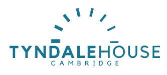 Tyndale House Cambridge